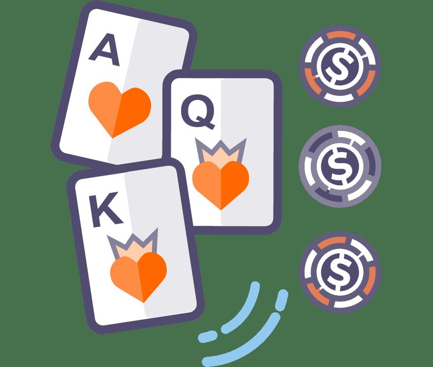 Jucați Poker cu trei cărți Online -Top 27 Cazino Mobiluri care plătesc cel mai bine 2021